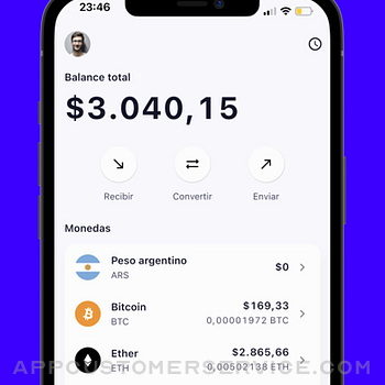 Belo: buy and sell crypto iphone image 2