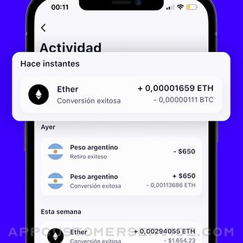 Belo: buy and sell crypto iphone image 3