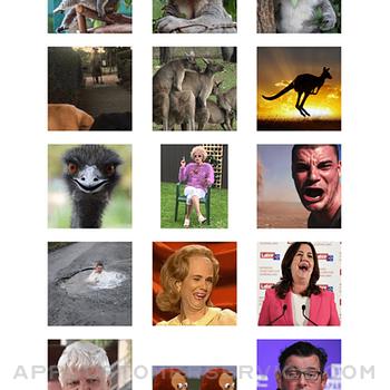 Aussie Meme Stickers iphone image 2