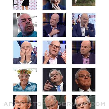 Aussie Meme Stickers iphone image 3