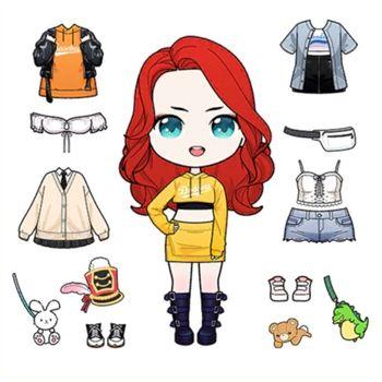 Anna Doll - Dress Up Game Customer Service
