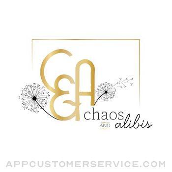 Chaos and Alibis Customer Service