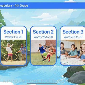 Ace Vocabulary Grade 4 ipad image 2