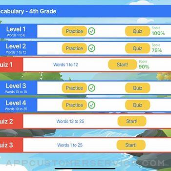 Ace Vocabulary Grade 4 ipad image 3