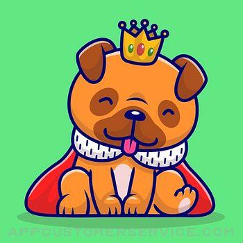 Baby Pug Stickers Customer Service