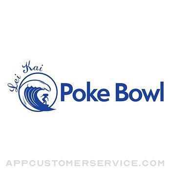 Lei Kai Poke Bowl Customer Service