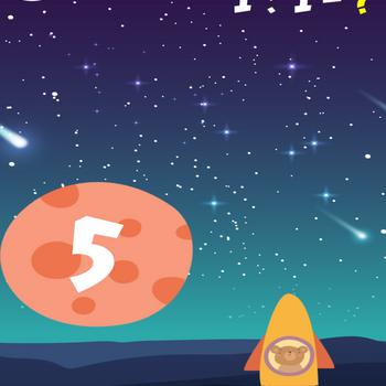 Bear Ride Rocket Math ipad image 3