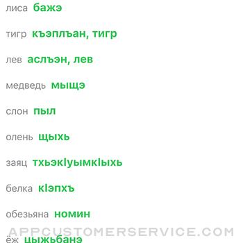 Словарь по кабардинскому iphone image 2