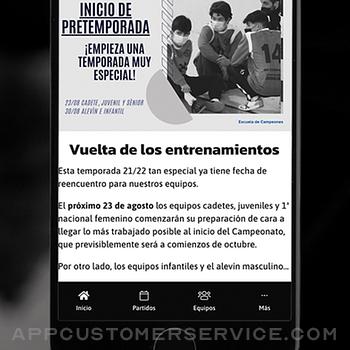 Balonmano Dominicos iphone image 4