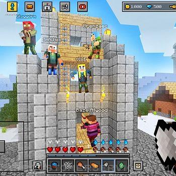 Block World 3D: Craft & Build ipad image 2