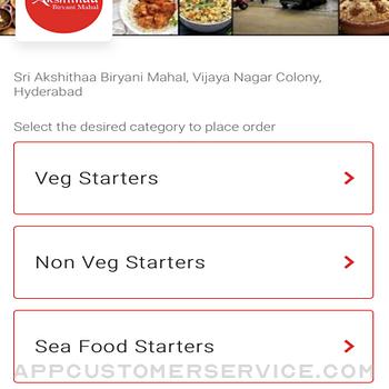 Akshithaa Biryani Mahal iphone image 1
