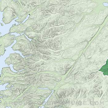 Ben Nevis, West Scotland Map Customer Service