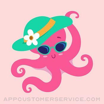 Octopus Emojis! Customer Service
