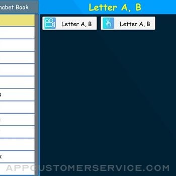 Nursery Alphabet book ipad image 1