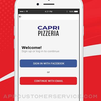 Capri Pizza App iphone image 1