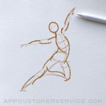 Video Figure: Gesture Drawing Customer Service