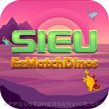 Sieu EzMatch Dinos Customer Service