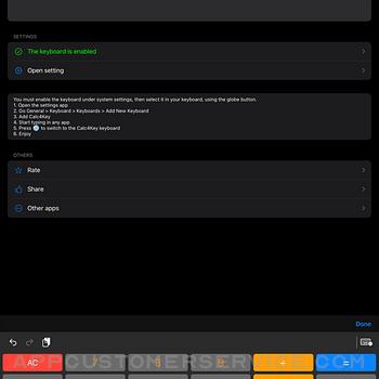 Calc4Key ipad image 3