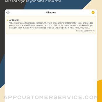 Anki Note ipad image 1