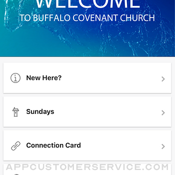 Buffalo Covenant Church iphone image 2