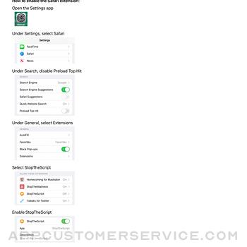 StopTheScript ipad image 1