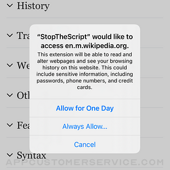StopTheScript iphone image 4