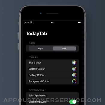 TodayTab: Start Tab for Safari iphone image 3