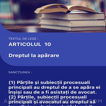 Codul Penal si de Procedura iphone image 1