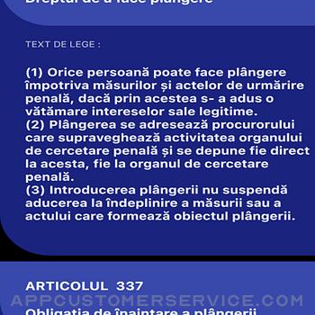 Codul Penal si de Procedura iphone image 2