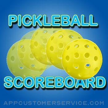 Pickleball Scoreboard Customer Service