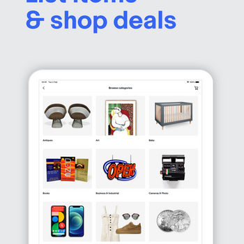 EBay - Buy and sell on the go ipad image 2