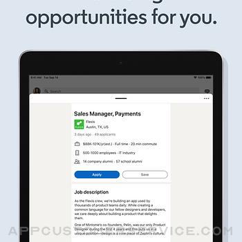 LinkedIn: Network & Job Finder ipad image 2