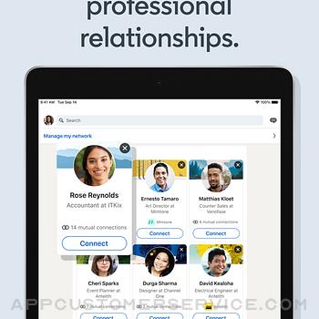 LinkedIn: Network & Job Finder ipad image 3