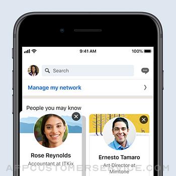 LinkedIn: Network & Job Finder iphone image 3