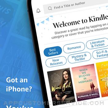 Amazon Kindle iphone image 1