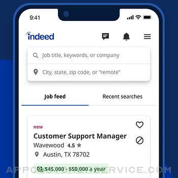 Indeed Job Search iphone image 1