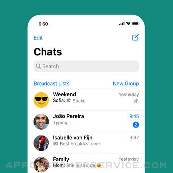 WhatsApp Messenger iphone image 1