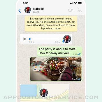 WhatsApp Messenger iphone image 2