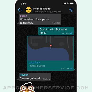 WhatsApp Messenger iphone image 4