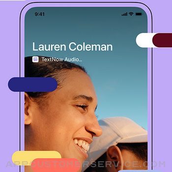 TextNow: Call + Text Unlimited iphone image 1