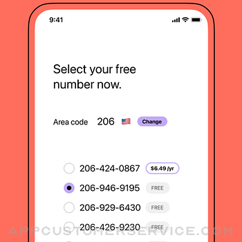 TextNow: Call + Text Unlimited iphone image 2