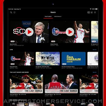 ESPN: Live Sports & Scores ipad image 2