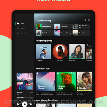 Spotify: Music and podcasts ipad image 2