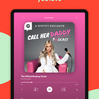 Spotify New Music and Podcasts ipad image 4