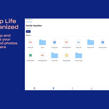 Dropbox - Backup, Sync, Share ipad image 1