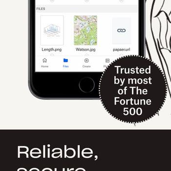 Dropbox: Cloud Storage & Drive iphone image 3