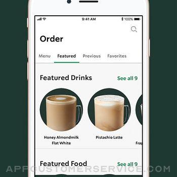 Starbucks iphone image 3