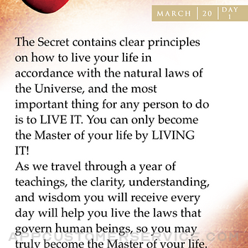 The Secret Daily Teachings iphone image 2