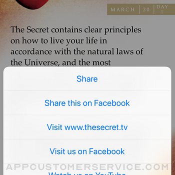 The Secret Daily Teachings iphone image 3