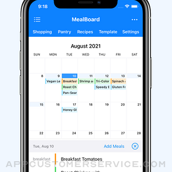 MealBoard - Meal Planner iphone image 1